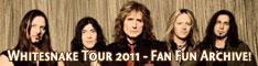 Whitesnake Tour 2011